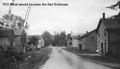 1913 Future site of first Modena Fire House