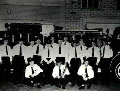 1958 Men on truck