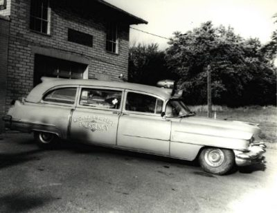 1964 Our 1956 Cadillac ambulance