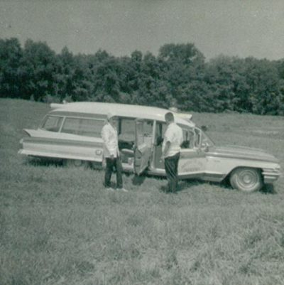 1970 Our 1962 Cadillac ambulance